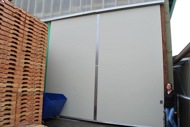 Oversized Sliding Pocket Doors Garage Doors And Openers