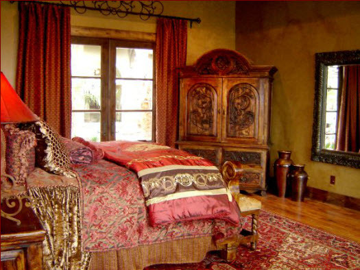 Rustic elegance bedrooms for Rustic elegant bedroom