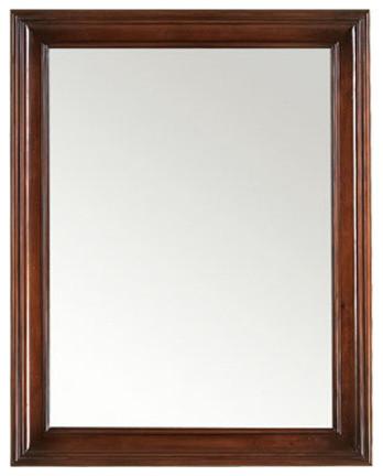 Awesome European Style White Bathroom Mirrors  Traditional  Bathroom Mirrors