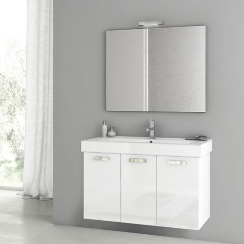 Complete bathroom vanity with sink and mirror contemporary bathroom vanities and sink for Bathroom vanities philadelphia