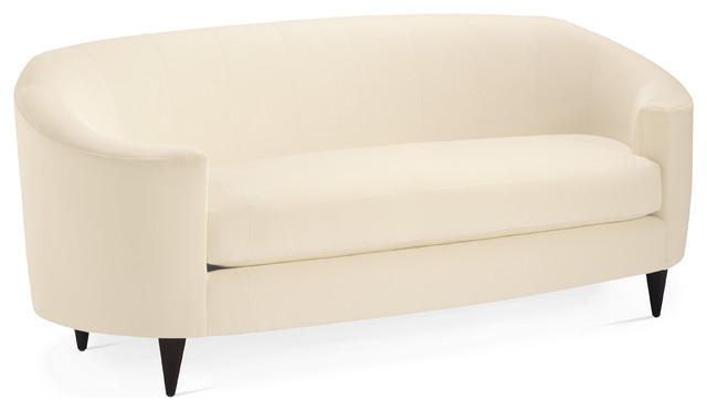 oval sofa contemporary sofas by baker furniture. Black Bedroom Furniture Sets. Home Design Ideas