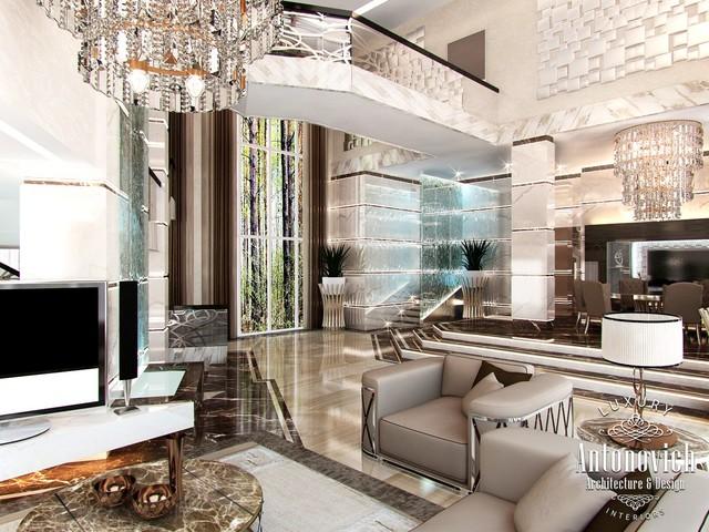 Villa Design In Palm Jumeirah Dubai From Luxury