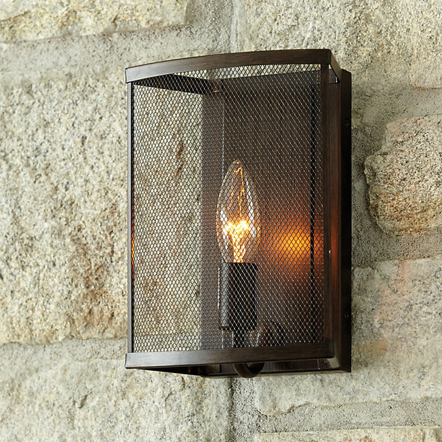 julian 1 light wall sconce traditional outdoor wall. Black Bedroom Furniture Sets. Home Design Ideas