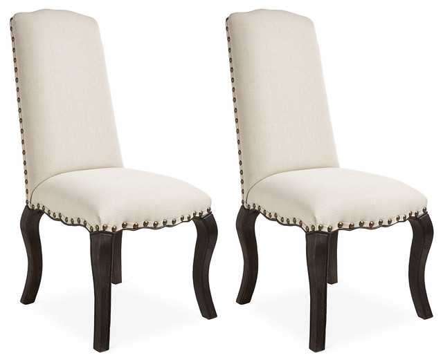 Dutch brown emily dining chairs pair contemporary for Dutch design chair uk