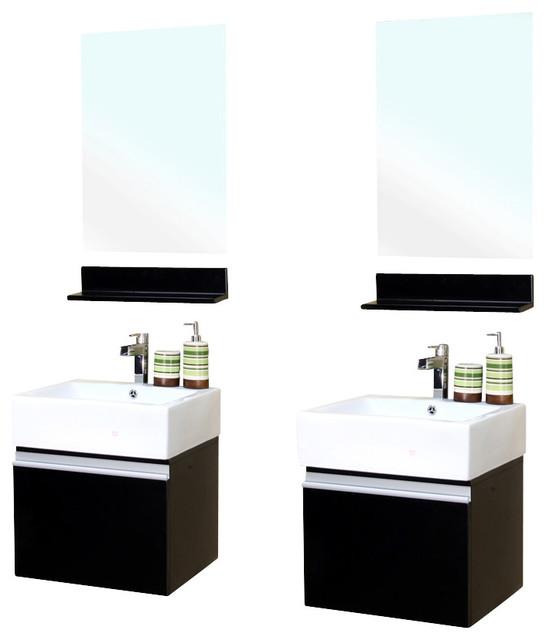 41 inch wall mount style sink vanity wood