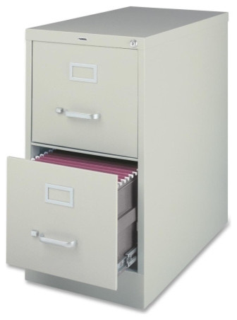 2-Drawer Vertical File Cabinet - Modern - Home Office Accessories