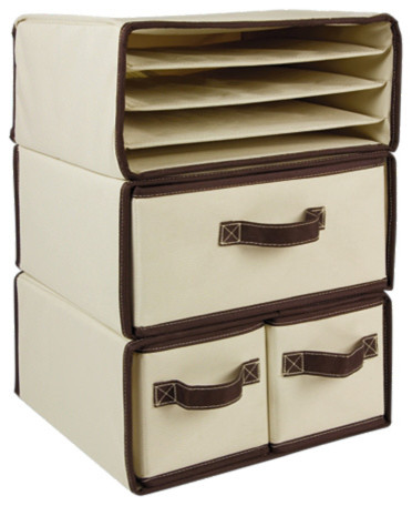 Canvas Art Organizers - Contemporary - Desk Accessories - by One Step Ahead