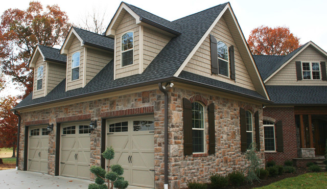 Classic Brick Stone Home Traditional Other By