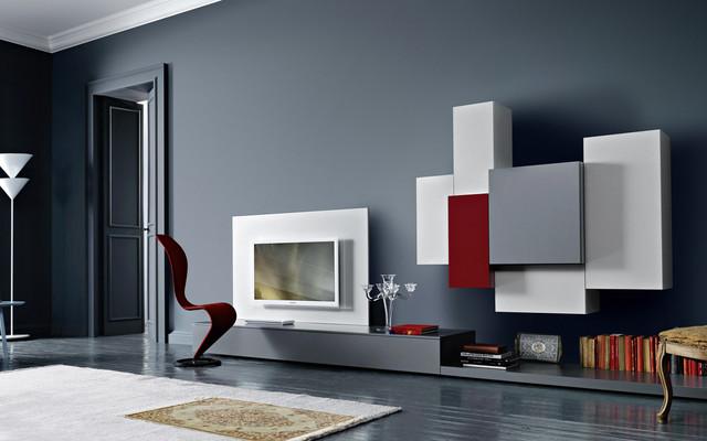 Yarial.com = Moderne Tv Wand ~ Interessante Ideen Für Die ... Wohnzimmer Tv Wand Modern