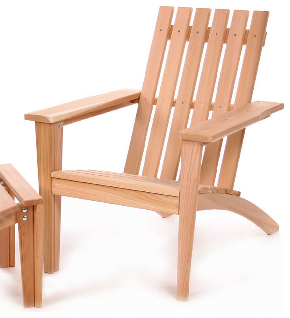 All Things Cedar AE21U Adirondack Easybac Chair Modern Adirondack Chairs
