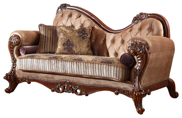 Bordeaux Chaise Traditional Indoor Chaise Lounge