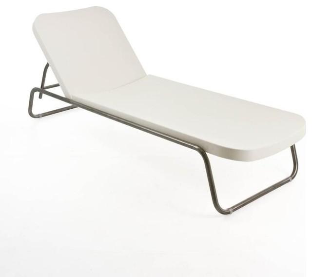 time out liege 171x66x74cm bauhaus look gartenliegen. Black Bedroom Furniture Sets. Home Design Ideas