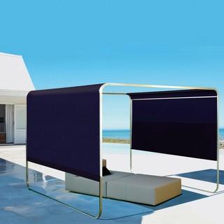 shangrila pergola bauhaus look sonnenschirme von. Black Bedroom Furniture Sets. Home Design Ideas