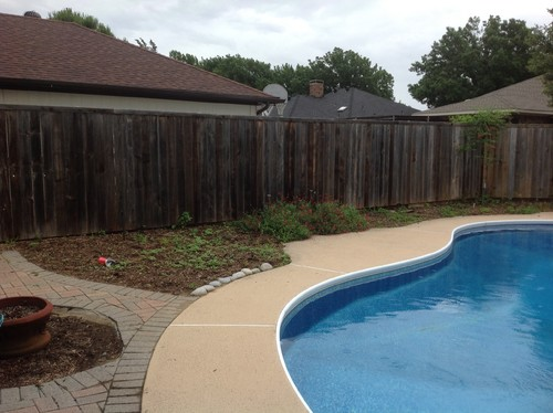 Simple pool landscaping for Easy pool landscaping ideas