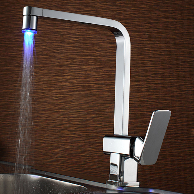 sumerain led kitchen faucet contemporary kitchen faucets by