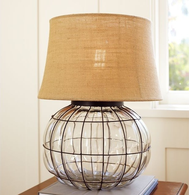 caged glass table lamp contemporary table lamps by On caged glass lamp
