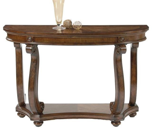 Victorian manor sofa table contemporary console tables for Sofa table victorian