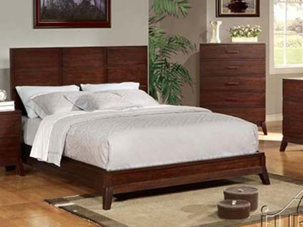 Acme Furniture Adel Eastern King Size Bed 11197ek Contemporary Bedroom Products