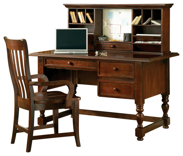 Steve silver bella writing desk with hutch and arm chair
