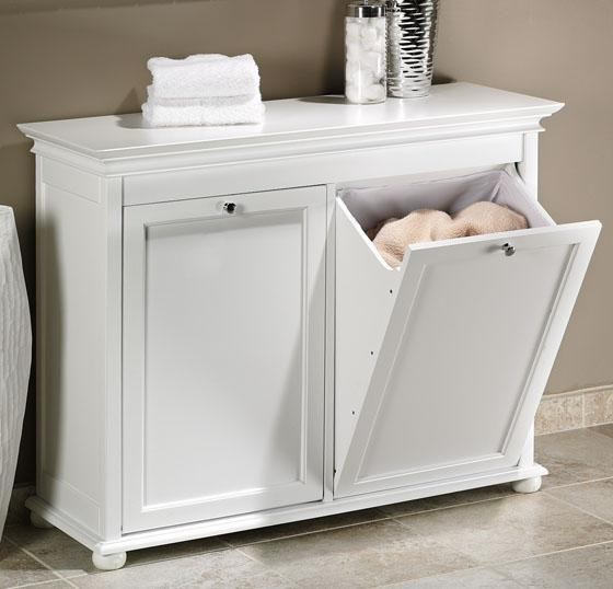Hampton Bay Double Tilt-Out Hamper - Traditional - Hampers - by Home Decorators Collection