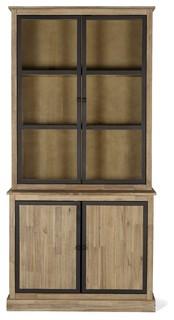 Cocto meuble double vitrine style industriel - Meuble industrielle pas cher ...