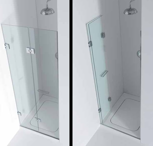 INFOLD SHOWER DOOR
