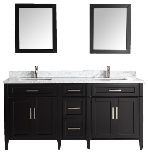espresso modern bedroom makeup vanities by vanity art llc