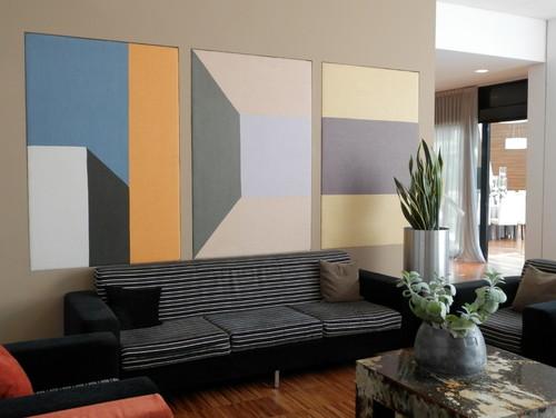 Pannelli fonoassorbenti di design