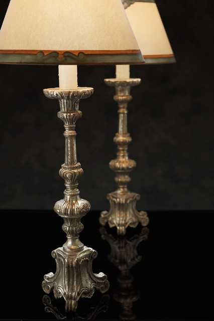 Santos Table Lamp Traditional Table Lamps By Ebanista