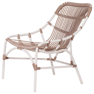 Coronado Outdoor Lounge Chair Cocoa Contemporary Garden Lounge Chairs