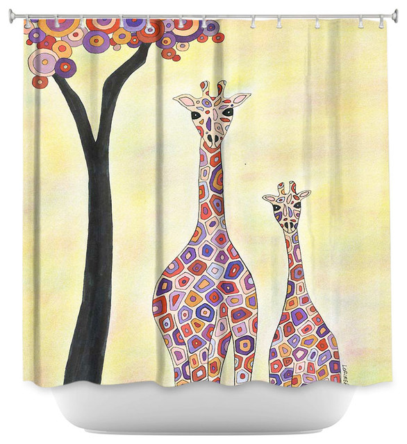 Shower Curtain Unique from DiaNoche Designs - Room to Grow - Contemporary - Shower Curtains - by ...