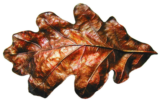 Oak Leaf Pulls - Cabinet And Drawer Handle Pulls - by Notting Hill Decorative Hardware