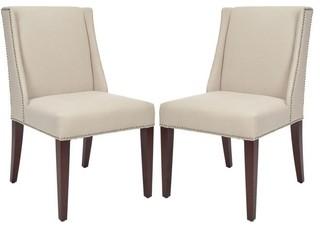 Safavieh Mcr4535a Set2 Lauren Side Chair Contemporary