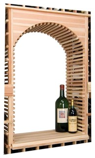 vintner series wine rack archway table top insert. Black Bedroom Furniture Sets. Home Design Ideas