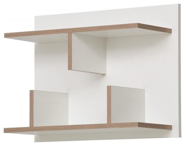 wandregal basel wei 60 moderno librerie di. Black Bedroom Furniture Sets. Home Design Ideas