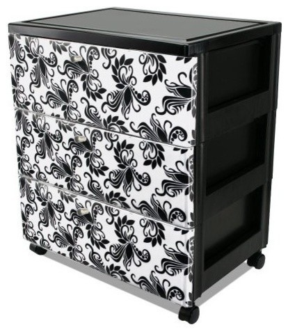 Premium 3-Drawer Wide Chest - Contemporary - Accent Chests ...