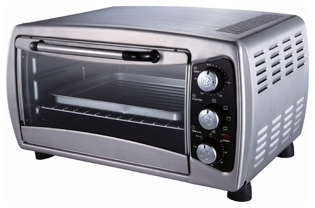 Stainless Countertop Convection Oven contemporary-toaster-ovens