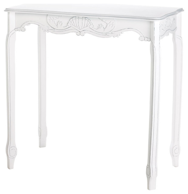 distressed white hallway table farmhouse console tables by agm