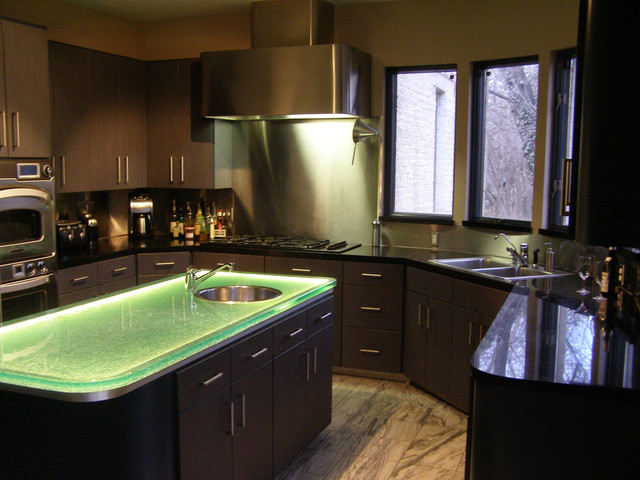 Blown Glass Mini Pendant Modern Kitchen Island Lighting Modern Kitchen