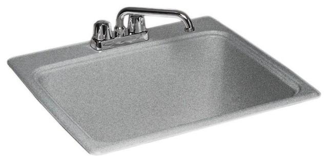 Granite Laundry Sink : ... Laundry Tub, Gray Granite, 22