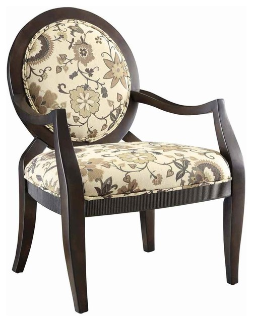 Hanover Swirl Accent Chair Contemporary Armchairs And