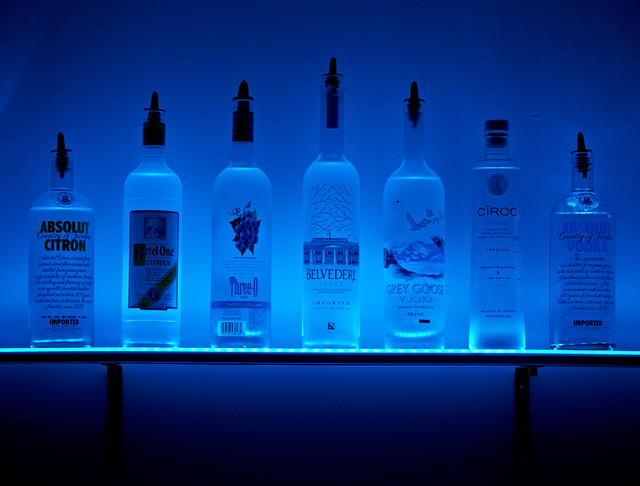 Back Bar Lighting Ideas From Armana Productions - Traditional - Prints And Posters - other metro ...