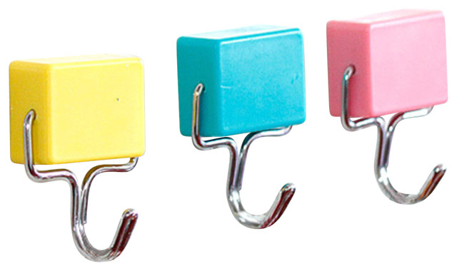 Colored - The Magnetic Hooks - Contemporary - Wall Hooks - by utopiat lifestyle