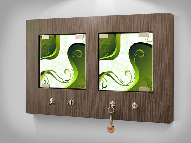 Key Holder Wall Mount - Contemporary - Wall Hooks - miami ...