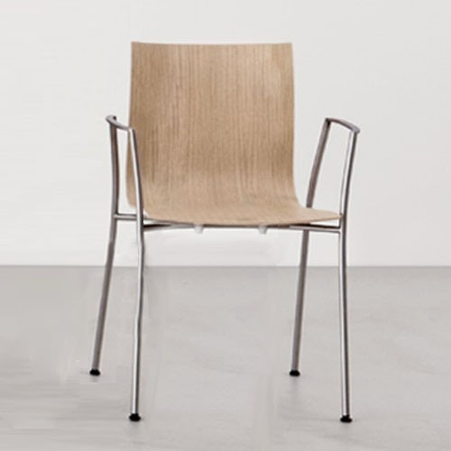 thin dining chair with arms modern dining chairs by