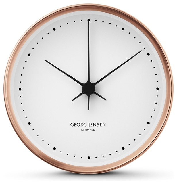 Koppel Wall Clock Contemporary Wall Clocks By Skandium