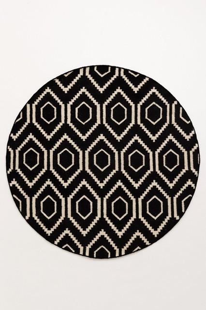 black round rugs, Rug/