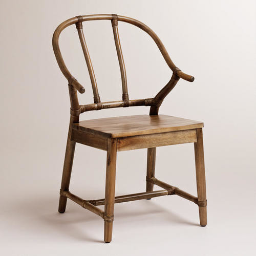 Cost Plus Chairs: Natural Bowen Wishbone Chair