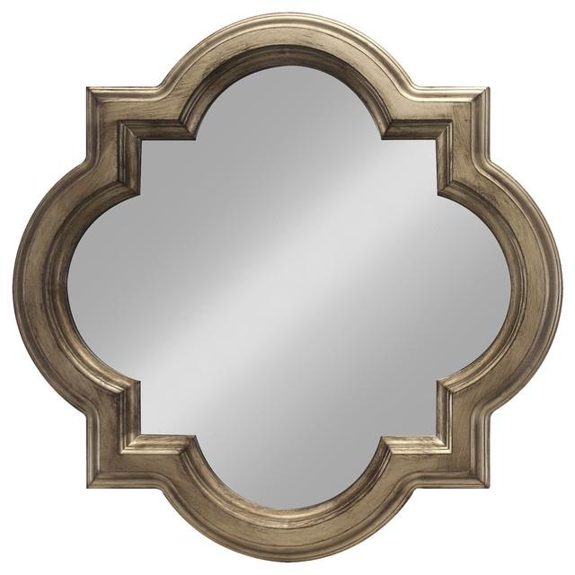 Threshold Clover Mirror Gold Classico Specchi Da