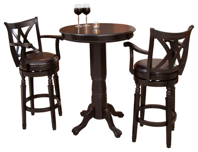 montreal bar set contemporary indoor pub and bistro sets by gdfstudio. Black Bedroom Furniture Sets. Home Design Ideas